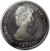 5 Dollars - Elizabeth II (2nd portrait; Silver) – obverse