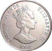 25 Cents - Elizabeth II (3rd portrait; magnetic) – obverse