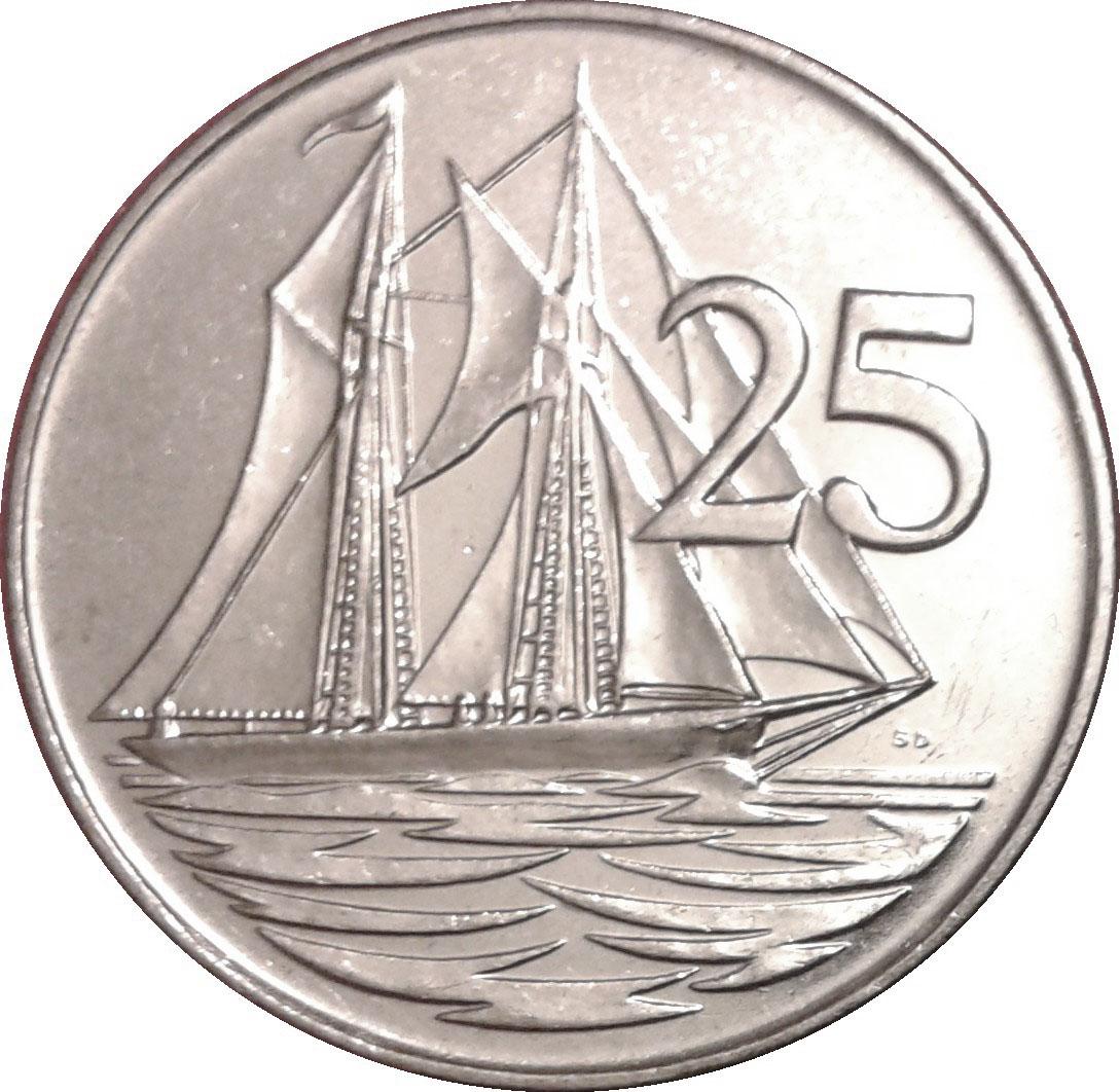 Cayman Island Elizabeth Coin