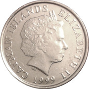 5 Cents - Elizabeth II (4th portrait) -  obverse