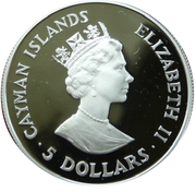 5 Dollars - Elizabeth II (Save the Children) – obverse