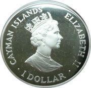 1 Dollar - Elizabeth II (Royal Visit) – obverse