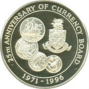 2 Dollars - Elizabeth II (Monetary Authority) – reverse