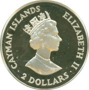 2 Dollars - Elizabeth II (Monetary Authority) – obverse