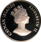 1 Dollar - Elizabeth II (Iguana) – obverse