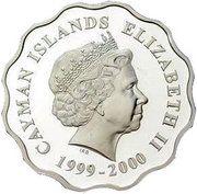 2 Dollars - Elizabeth II (Millennium) – obverse
