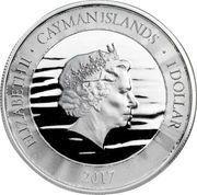 1 Dollar - Elizabeth II (Marlin; Silver and Gold) – obverse