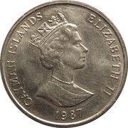 25 Cents - Elizabeth II (3rd portrait) – obverse