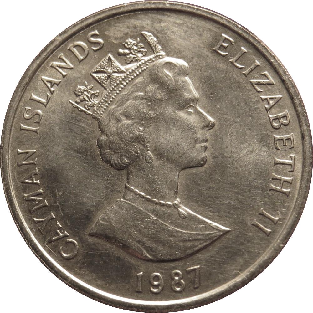 25 Cents Elizabeth Ii 3rd Portrait