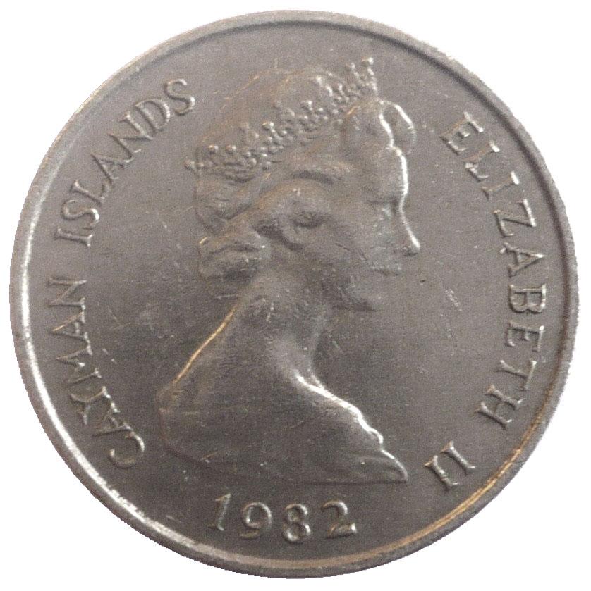 Cayman Islands Elizabeth Ii Coin
