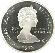 5 Dollars - Elizabeth II (25th Anniversary of Coronation) – obverse