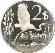 2 Dollars - Elizabeth II (25th Anniversary of Coronation) – reverse