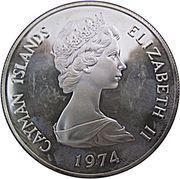 2 Dollars - Elizabeth II (2nd portrait; silver) – obverse