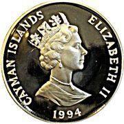 1 Dollar - Elizabeth II (Queen Mother) – obverse