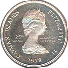 10 Cents - Elizabeth II (25th Anniversary of Coronation) – obverse