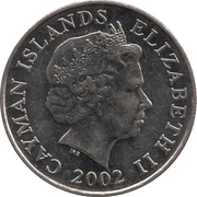 25 Cents - Elizabeth II (4th portrait) -  obverse