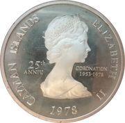 1 Dollar - Elizabeth II (25th Anniversary of Coronation) – obverse