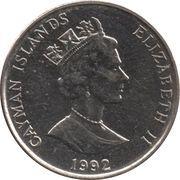 5 Cents - Elizabeth II (3rd portrait; magnetic) – obverse