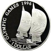 1 Dollar - Elizabeth II (Summer Olympics) – reverse