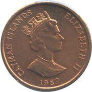 1 Cent - Elizabeth II (3rd portrait; non-magnetic) – obverse