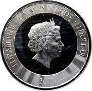 1 Dollar - Elizabeth II (Marlin; Silver) – obverse