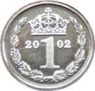 1 Penny - Elizabeth II (Maundy Money) – reverse