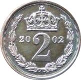 2 Pence - Elizabeth II (Maundy Money) – reverse