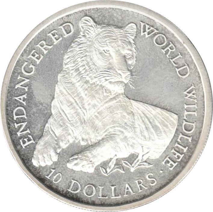 Dollars Endangered World Wildlife  Cook Islands