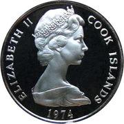 5 Tene - Elizabeth II (2nd portrait) -  obverse