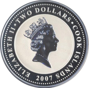 2 Dollars - Elizabeth II (The Sign of the Four) – obverse