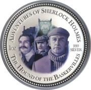 2 Dollars - Elizabeth II (The Hound of the Baskervilles) – reverse