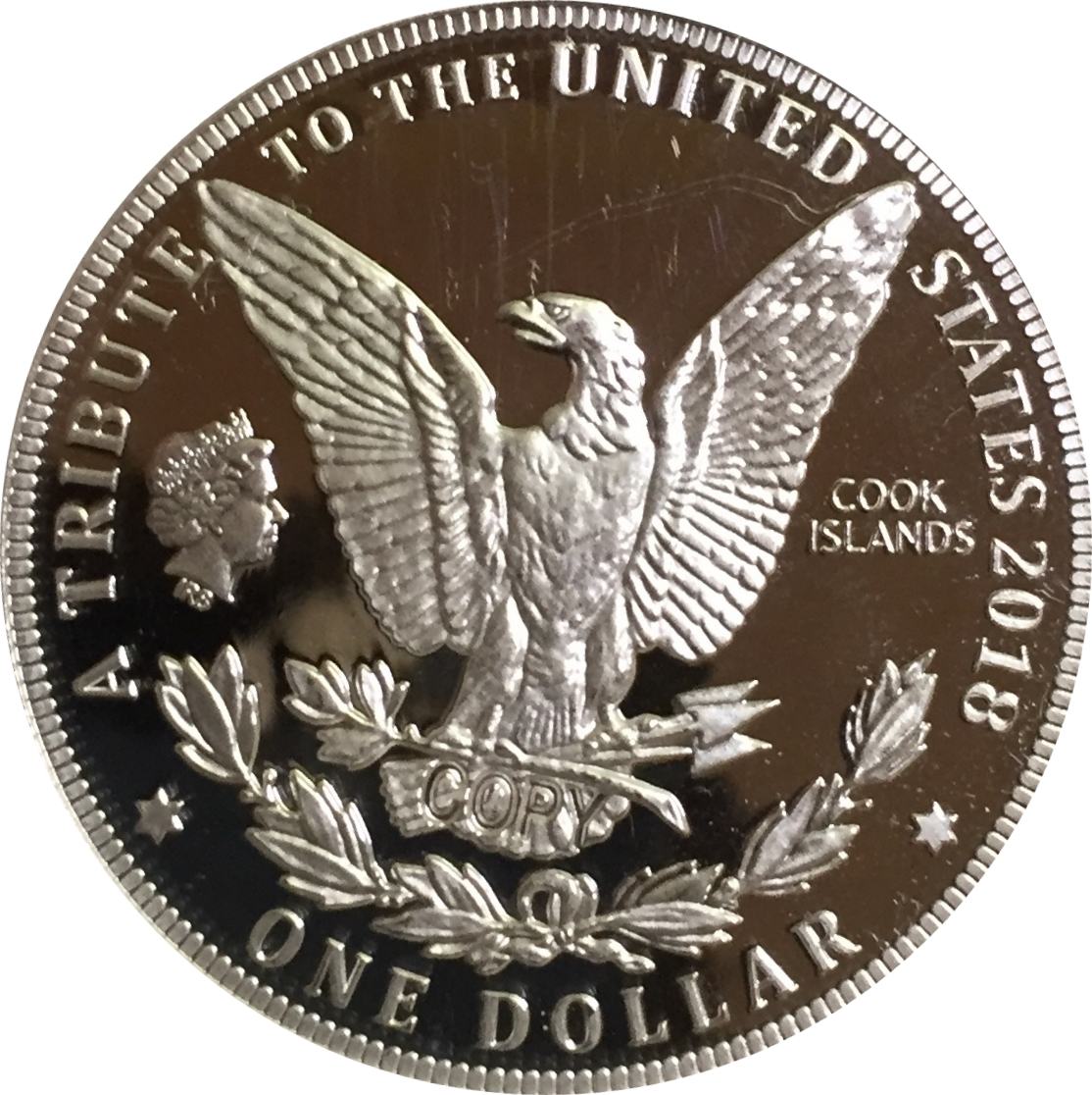 1 Dollar 1964 Usa Morgan Dollar Cook Islands Numista