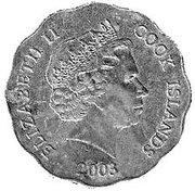 1 Dollar - Elizabeth II (4th portrait) -  obverse
