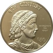 50 Dollars - Elizabeth II (4th Century) – reverse