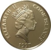 50 Dollars - Elizabeth II (6th Century) – obverse