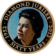 50 Pence - Elizabeth II (Diamond Jubilee) – reverse