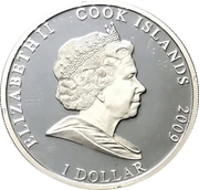 1 Dollar - Elizabeth II (Medusa) – obverse