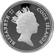 1 Dollar - Elizabeth II (Atlantis) – obverse