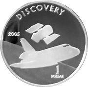 1 Dollar - Elizabeth II (Discovery) – reverse