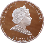 5 Dollars (Year of the rabbit) – obverse