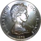 20 Tene - Elizabeth II (2nd portrait; James Cook) – obverse