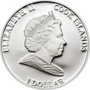 1 Dollar - Elizabeth II (Liz Taylor in Memoriam) – obverse