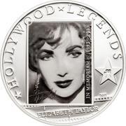 1 Dollar - Elizabeth II (Liz Taylor in Memoriam) – reverse