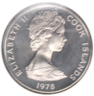 5 Cents - Elizabeth II (2nd portrait; James Cook) – obverse