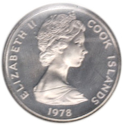 5 Cents - Elizabeth II (2nd portrait; James Cook) – obverse