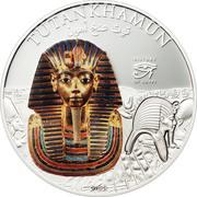 5 Dollars - Elizabeth II (Tutankhamun) – reverse