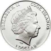 1 Dollar - Elizabeth II (Tutankhamun) – obverse
