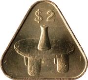 2 Dollars - Elizabeth II (4th portrait) -  reverse