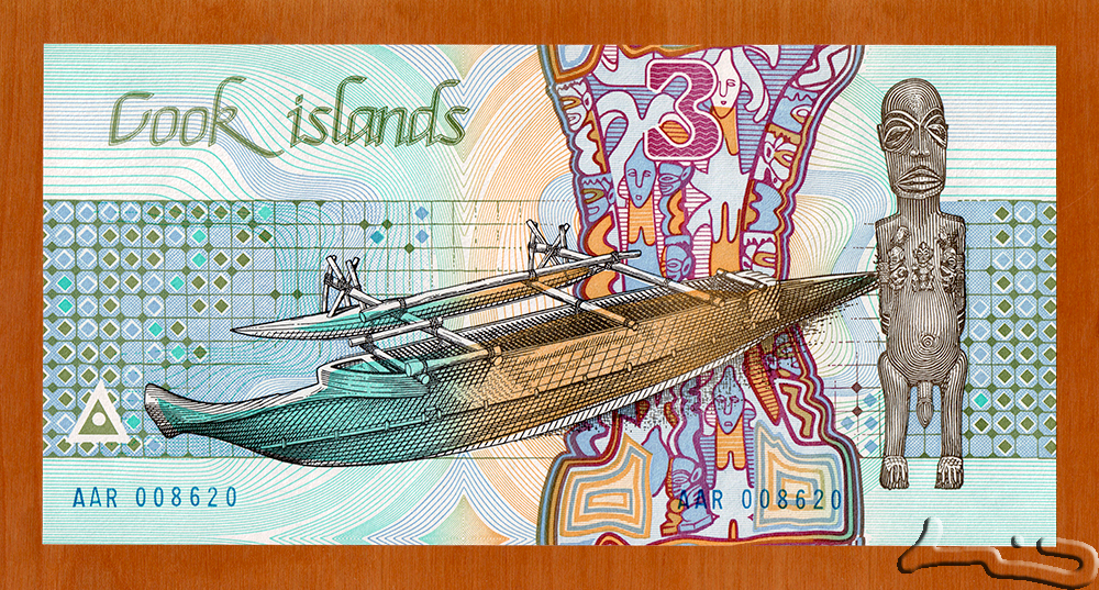 3 Dollars - Cook Islands - Numista