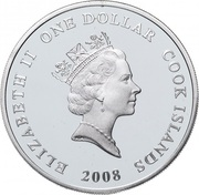 1 Dollar - Elizabeth II (Colt; gilt) -  obverse